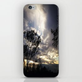 Peaceful and powerful sunset iPhone Skin