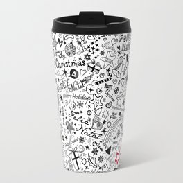 Merry Christmas Multiple languages Travel Mug