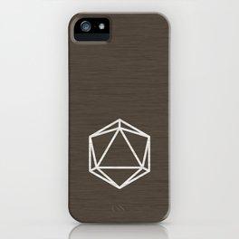 Icosahedron 1 iPhone Case