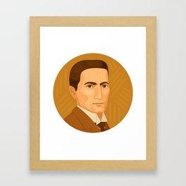 Queer Portrait - J. C. Leyendecker Framed Art Print