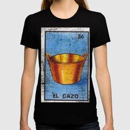 El Cazo Mexican Loteria Bingo Card T-shirt