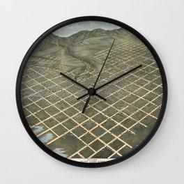 Salt Lake City 1870 Wall Clock