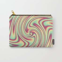 Cherry Lemon Lime Ribbon Candy Fractal Carry-All Pouch