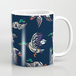Male Mallard ducks Coffee Mug