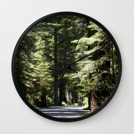 Humboldt State Park Road Wall Clock