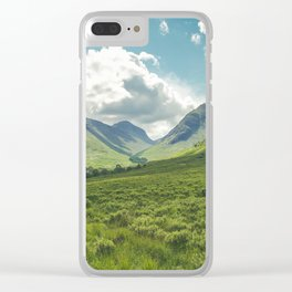 Mountain Spring Clear iPhone Case