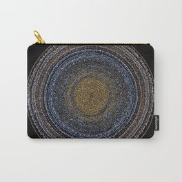 Light in the night asemic calligraphy for home & office decoration Carry-All Pouch