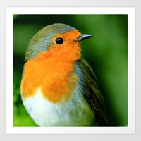 Larry in the Green Art Print