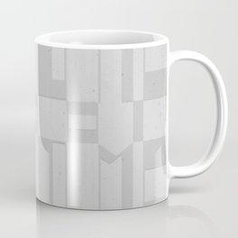 Light Gray Domio Deco Coffee Mug