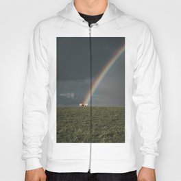 Rainbow II  - Landscape and Nature Photography Hoody