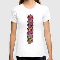 glasses T-shirts featuring GLASSES by Gianluca Floris