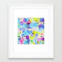 polka dot Framed Art Prints featuring Polka Dot by Amy Sia