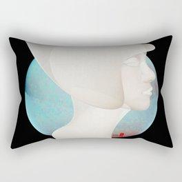 Time Rabbit Girl Rectangular Pillow