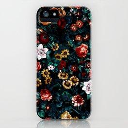 EXOTIC GARDEN - NIGHT VI iPhone Case