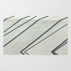 Black Lines Rug