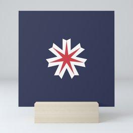 Flag of Hokkaido Mini Art Print