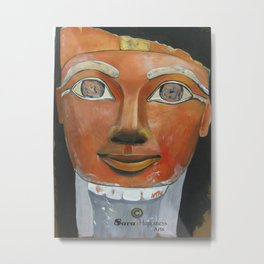 Egyption Queen  Metal Print