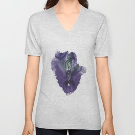 Allie's Vulva Print No.3 Unisex V-Neck