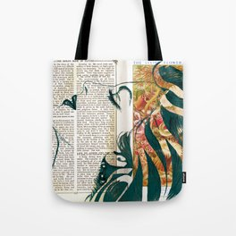 Ava - Flower of The Sea Tote Bag