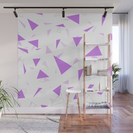 Triangle Pattern Wall Mural