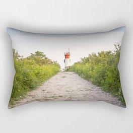 Beacon on a Hill Rectangular Pillow