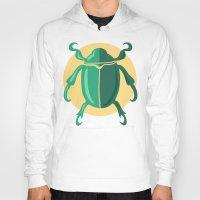 beetle Hoodies featuring beetle by Cardinal Design