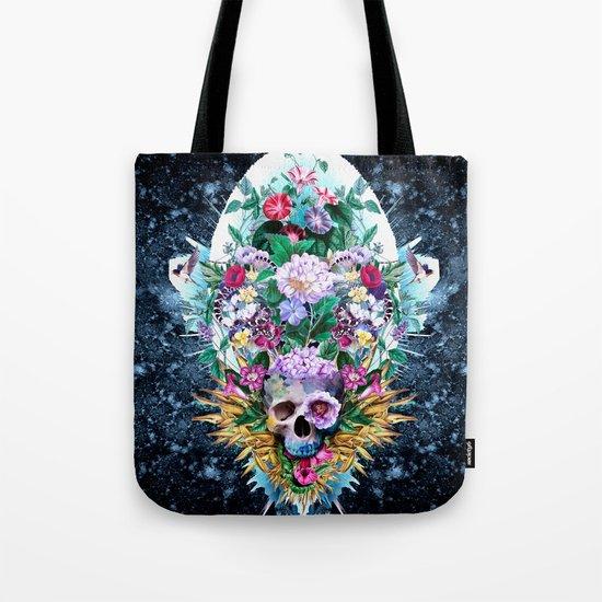 Skull Vivid VI Tote Bag