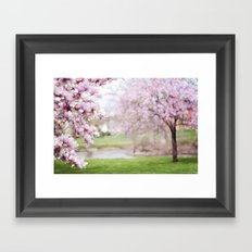 Dreamy Magnolia's Framed Art Print