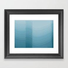 Ghost in the fog Framed Art Print