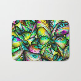 Psychedelic World Bath Mat