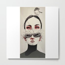 Nesting Thoughts  Metal Print