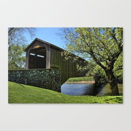 Hunsecker's Mill Covered Bridge Canvas Print