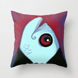 DapperFish Throw Pillow