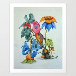 Paint the world Art Print