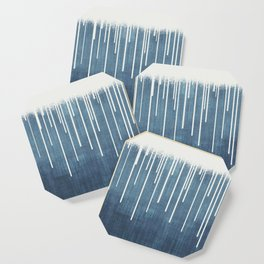 DROPS / Azure Blue, Cool Gray Coaster