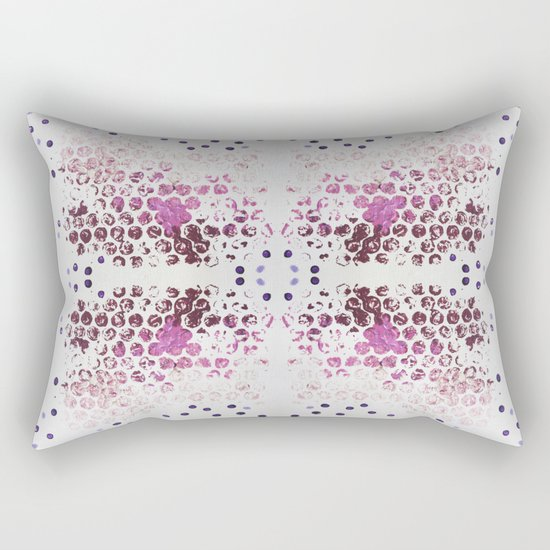 Spots and Dots Rectangular Pillow