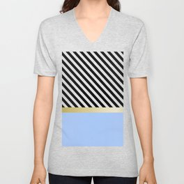 Areas and lines Unisex V-Neck
