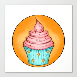 Cupcakes for Breakfast Canvas Print