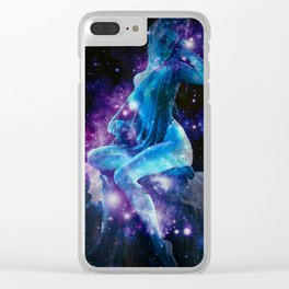 Celestial Body Clear iPhone Case