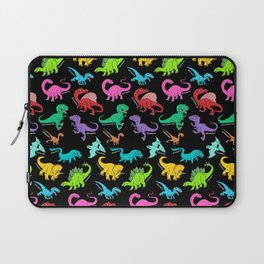 Rainbow dinosaurs Laptop Sleeve