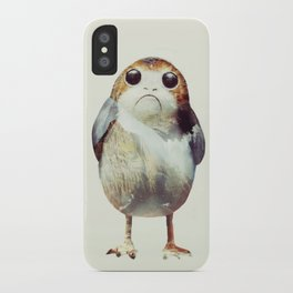 Porg on Ahch-To iPhone Case