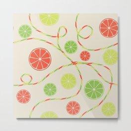 Fruit juice Metal Print