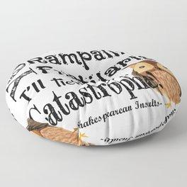 Tickle Your Catastrophe Floor Pillow
