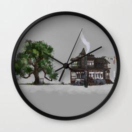 The Oak and the Crow Inn Wall Clock