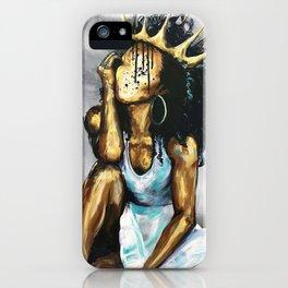 Naturally Queen XI iPhone Case