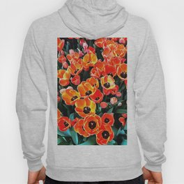Bright Red Tulips of Istanbul Hoody