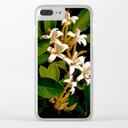 Honeysuckle Vine Clear iPhone Case