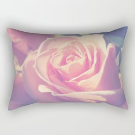 Shy Rose Rectangular Pillow