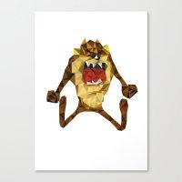 devil Canvas Prints featuring Devil by mutto