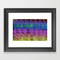 October Abstract Framed Art Print